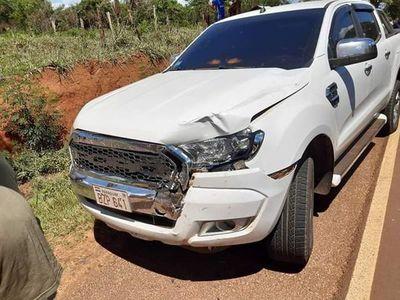 San Pedro: Vehículo presidencial atropelló y mató a un comunicador