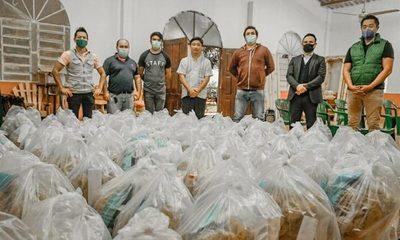 Shopping Paris sigue con su servicio a la sociedad, y ya lleva más de 1.000 cestas básicas entregadas – Diario TNPRESS