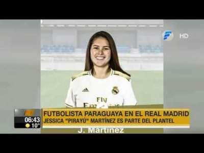 De Pirayú al primer equipo femenino del Real Madrid