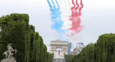 Homenajean a héroes de la pandemia en Francia