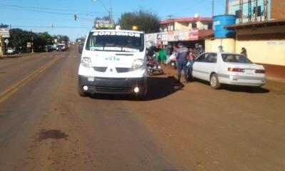 DOS ACCIDENTES DEJAN LESIONADOS EN MARIA AUXILIADORA.