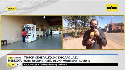 Informe tardío de muerte por coronavirus en Caaguazú