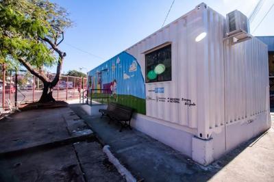 Ultiman detalles para instalar dispositivo de protección a niños en zona de la Terminal de Asunción