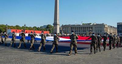 Francia conmemoró en modo Covid-19 la toma de la Bastilla