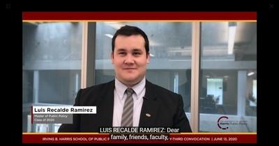 Paraguayo sobresaliente: especialista en políticas públicas se destaca en la Universidad de Chicago