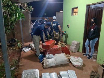 Hallan alrededor de 739 kilos de marihuana en Amambay