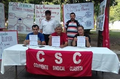 HOY / Eduardo Ojeda, de la Corriente Sindical Clasista, sobre la no suba de salario mínimo