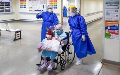 """Abuelita de 94 años recuperada: """"No tenía enfermedad de base, salvo las propias de la edad"""", dicen"""