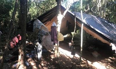 Senad destina operativo para la destrucción de campamento narco en Alto Paraná