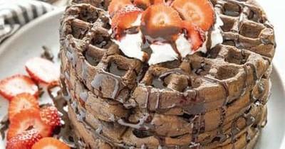 Receta para unos deliciosos waffles keto