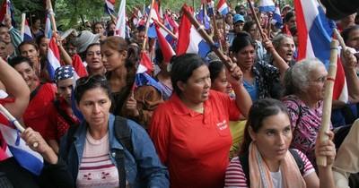 El Frente Mujer del Partido Paraguay Pyahurã se manifestará frente al Ministerio de Salud
