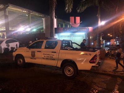 Tiroteo en CDE y Presidente Franco entre marinos y delincuentes deja un herido