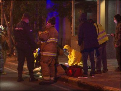 Terrible: Pelea por una frazada entre dos personas en situación de calle terminó a cuchillazos