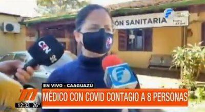 Médico contagió a ocho personas en Caaguazú