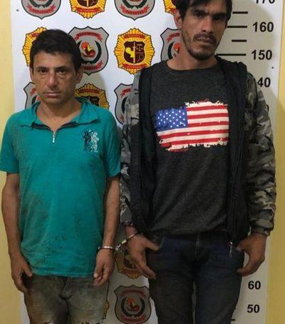Apresan a dos delincuentes con frondosos antecedentes tras asalto