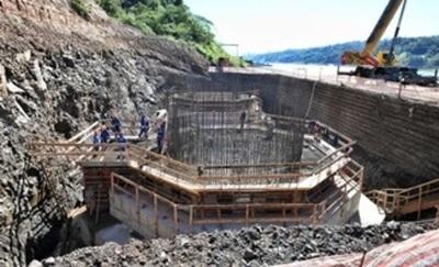 Bases de la torre principal del Puente de la Integración van tomando forma