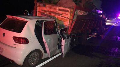 Guairá: un policía falleció en un accidente de tránsito