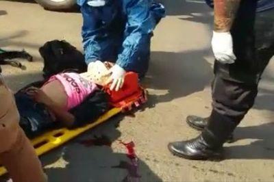 Motociclista falleció luego de haber embestido por un camión en Pedro Juan Caballero