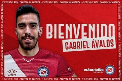 Gabriel Ávalos ficha por Argentinos Juniors