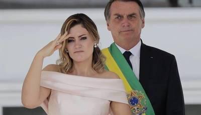 La esposa del presidente brasileño Jair Bolsonaro tiene coronavirus