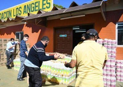 Itaipu continúa con acciones de asistencia en Alto Paraná