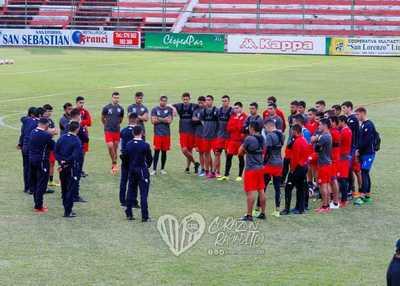 San Lorenzo ya trabaja con su nuevo cuerpo técnico
