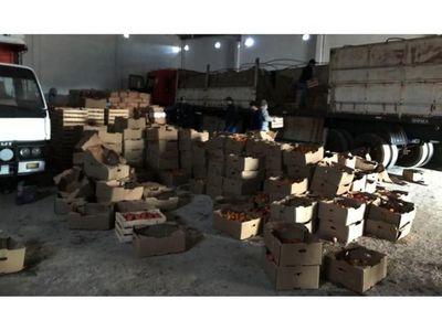 Decomisan contrabando de azúcar y tomate en  Oviedo