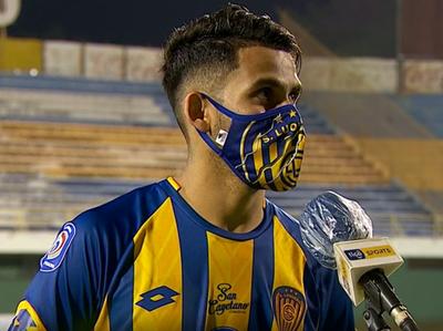Juan Armoa y su apreciación tras la derrota
