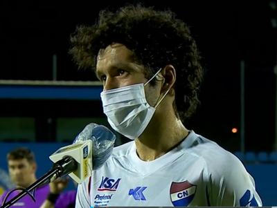 Cristian Riveros lamenta el empate