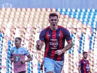 Diego Churín llega a su gol número 50 con la camiseta azulgrana